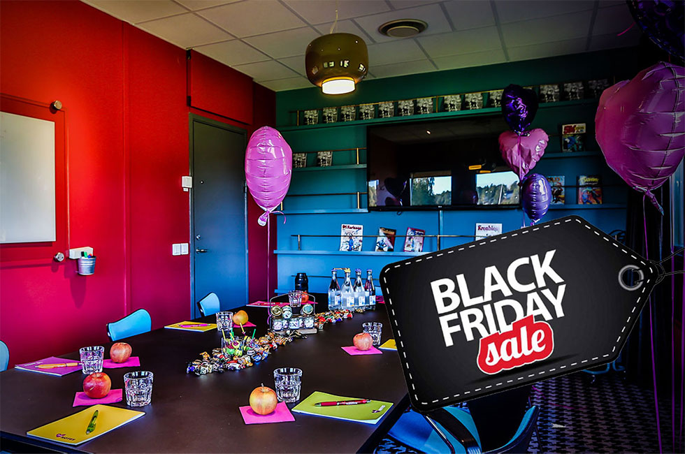 Black Friday 2017 erbjudande konferens
