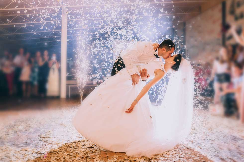 Bröllopsdans på hherrgården