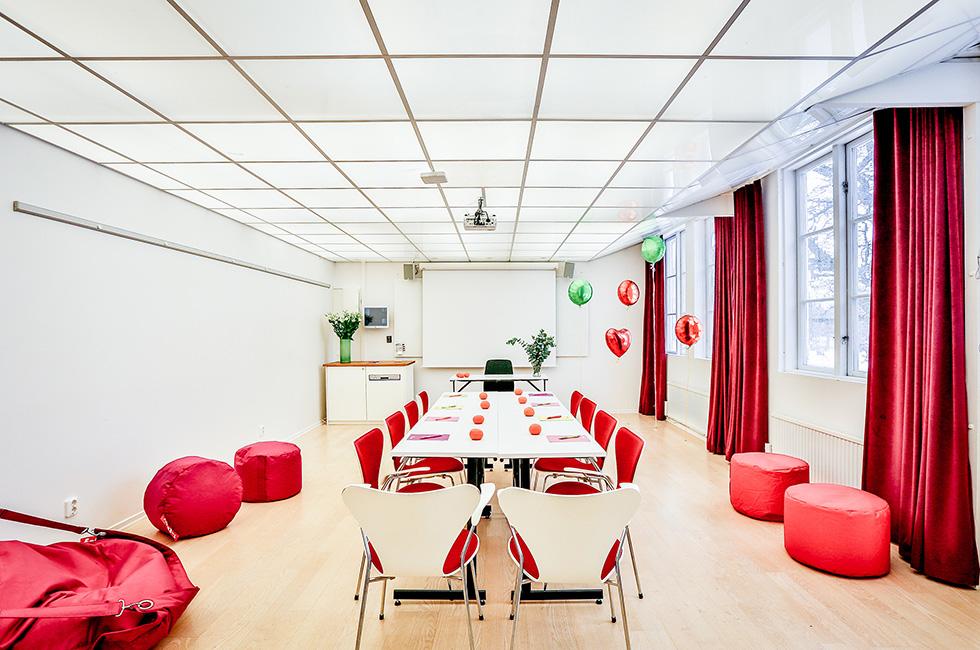 Konferenslokal ny inredning på Happy Tammsvik
