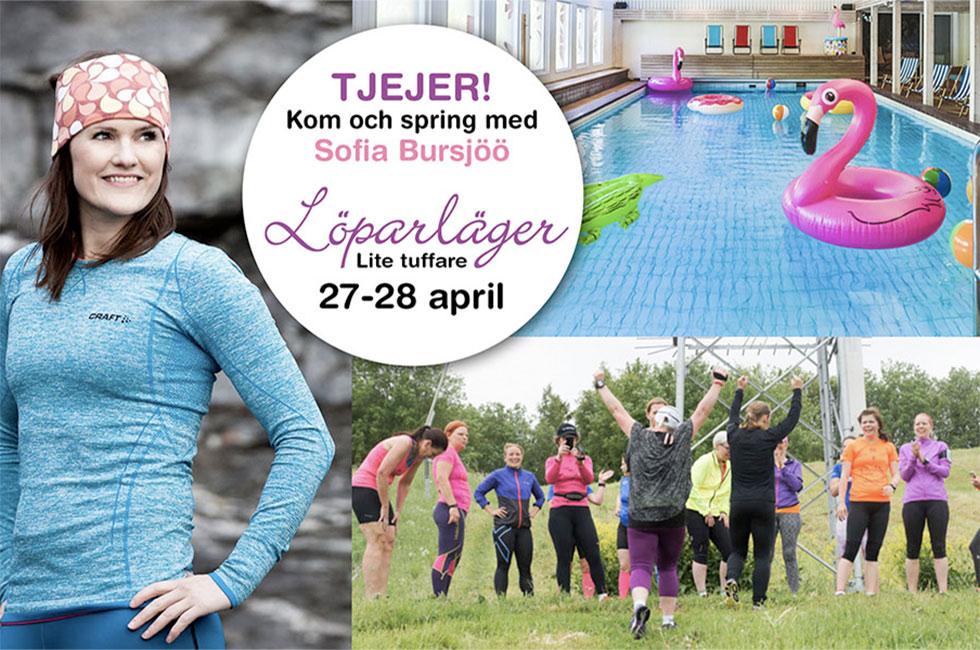 Löparläger med Sofia Bjursjöö