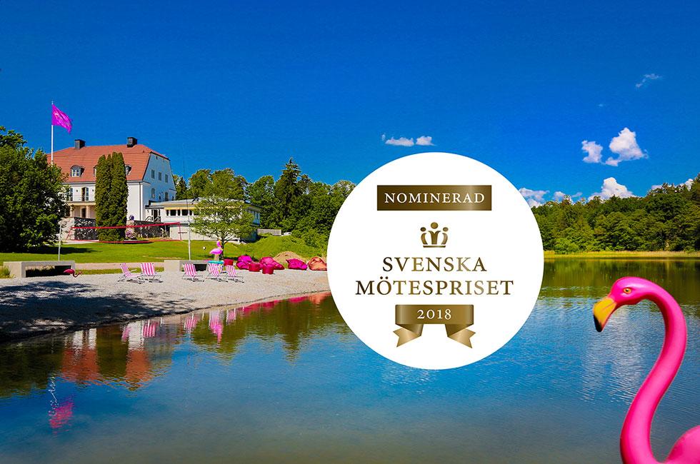 Happy Tammsvik nominerad till Svenska Mötespriset Årets miljöinitiativ