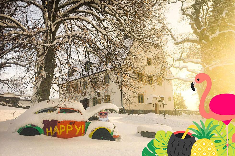 Sportlov på herrgården Happy Tammsvik