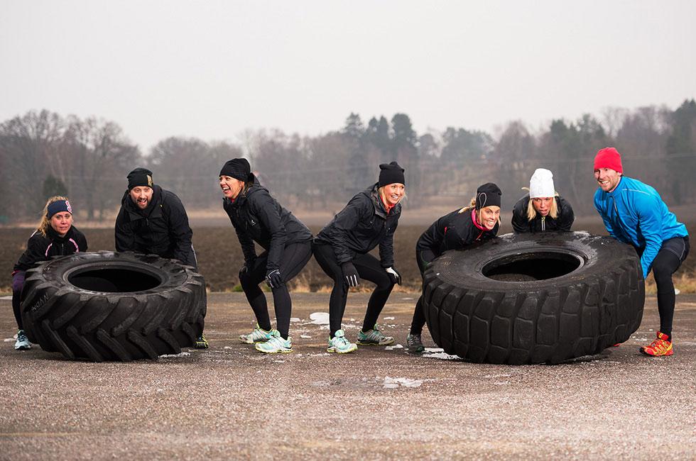 Teambuilding på konferens på Happy Tammsvik
