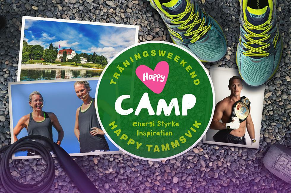 Träningsweekend Happy Camp med Rickard Nordstrand