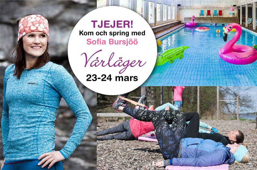 Träningshelg löpning för tjejer med Sofia Bjursjöö