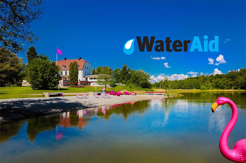 Wateraid och Happy Tammsvik i samarbete